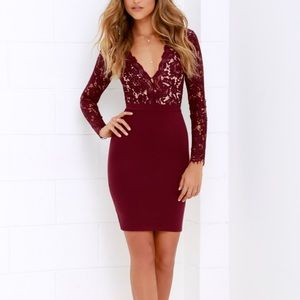 LuLus Swooner or Later dress